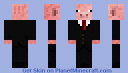 Pigman in a suit Minecraft