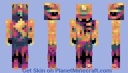 PikaCHEW (Fishkiss' palette) Minecraft Skin