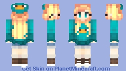 Perry the Platypus Suit Minecraft Skin