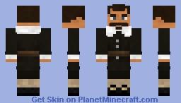 John Ogden, English Settler Minecraft Skin