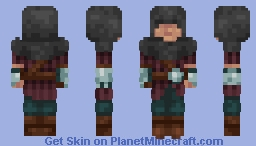 Yet another hooded Rogue Minecraft Skin