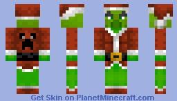 Pillager Grinch Minecraft Skin