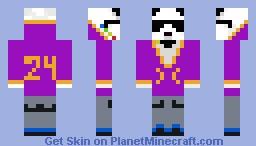 lakers panda Minecraft Skin