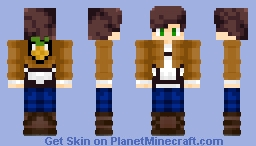 Pineapple Scout Minecraft Skin