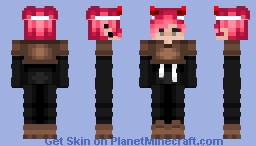 Just a pink-haired guy:) Minecraft Skin