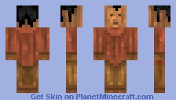 pinocchio Minecraft Skin