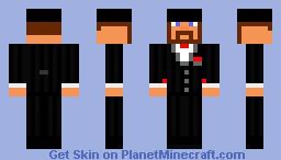 Mafia Godfather Minecraft Skin