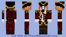A new pirate has arrived!!! Minecraft Skin