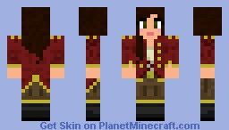 Pirate Queen Minecraft Skin