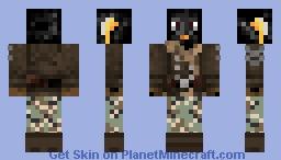 Penguin Fighter Minecraft Skin