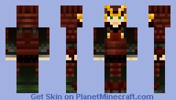 Samurai #1 - Light Skinned Minecraft Skin