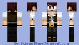 Pirate buccaneer 2 Minecraft Skin