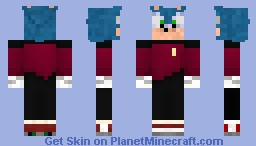 capt. sonic the Trekkie Minecraft Skin