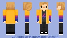 Alexjustalex new skin Minecraft Skin