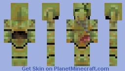 Plague Marine Minecraft Skin