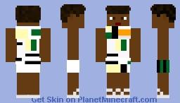 Wakanda Based background Female civilian Black Panther 2018 movie Minecraft Skin