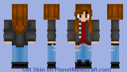 Boy with long hair (request) Minecraft Skin