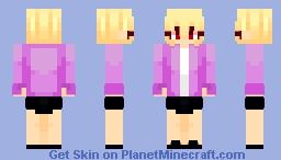 Mitsuki Bakugo Minecraft Skin