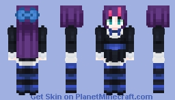 Panty and Stocking (with gaterbelt) || Stocking Minecraft Skin