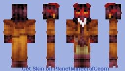 Tiefling Minecraft Skin