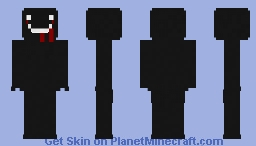 The Spooky Entity Minecraft Skin