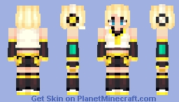 Rin - Vocaloid / Request Minecraft Skin
