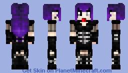 Very Goth Minecraft Skin