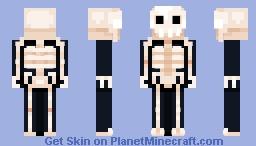 boney babe Minecraft Skin