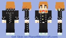 Yosuke Hanamura | Persona 4 Minecraft Skin