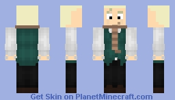 Haunted Mansion Series 2: The Ghost Host Minecraft Skin