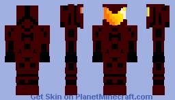 Red Trooper Minecraft Skin