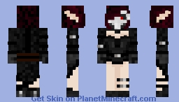 I am the cure Minecraft Skin