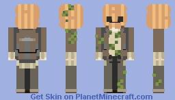 pumpkin man Minecraft Skin