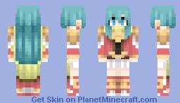 Eirika, Anamnesis Lady - Fire Emblem: The Sacred Stones Minecraft Skin