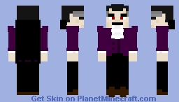 Count Dracula Minecraft Skin