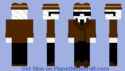 Dr. Griffin, The Invisible Man Minecraft Skin