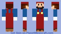 Jumpman Minecraft Skin