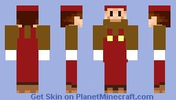 Retro Mario Minecraft Skin