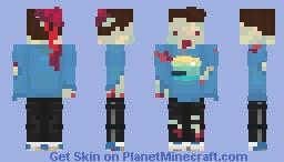 zombie boy Minecraft Skin