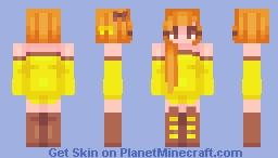 Reese's-Skintober 10- Minecraft Skin