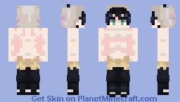 Inosuke Hashibira Minecraft Skin