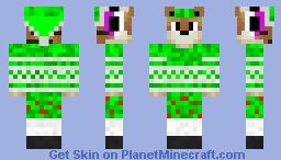 ZelkTheElf Minecraft Skin