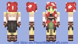 M u s h r o o m Minecraft Skin