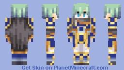 Ephraim, Legendary Lord - Fire Emblem: The Sacred Stones Minecraft Skin