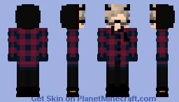 100% Sadness Minecraft Skin
