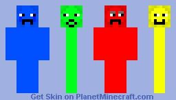 Mixed Emotions Minecraft Skin