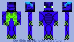 Water Hydra Minecraft Skin