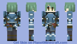 Alm, Leader of the Deliverance - Fire Emblem Echoes: Shadows of Valentia (Includes Hero Class alt) Minecraft Skin