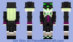 Touhou BoSM ~ Fuma Mishandra Minecraft Skin