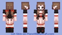 Vampiress Minecraft Skin